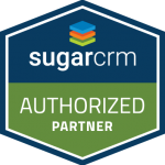 Certified partner of SugarCRM, intelligent CX Platform for Sales, Marketing and Services